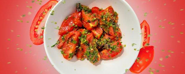 Готовит Наташа: домашний кетчуп и маринованные помидоры