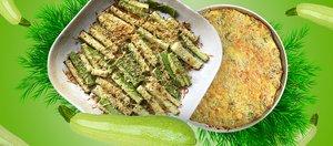 Два ленивых рецепта из кабачков