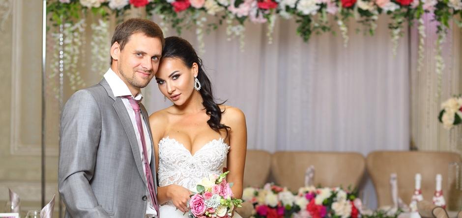 Свадьба в ресторане «Европа»: вкусно и стильно
