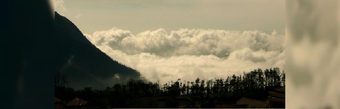 Иркутянин у вулкана Бромо