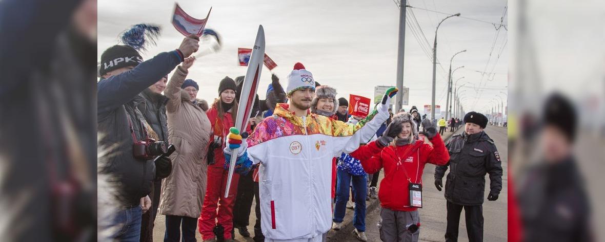 Альпинист Александр Клепиков: «Я мечтал стать факелоносцем, и у меня получилось!»