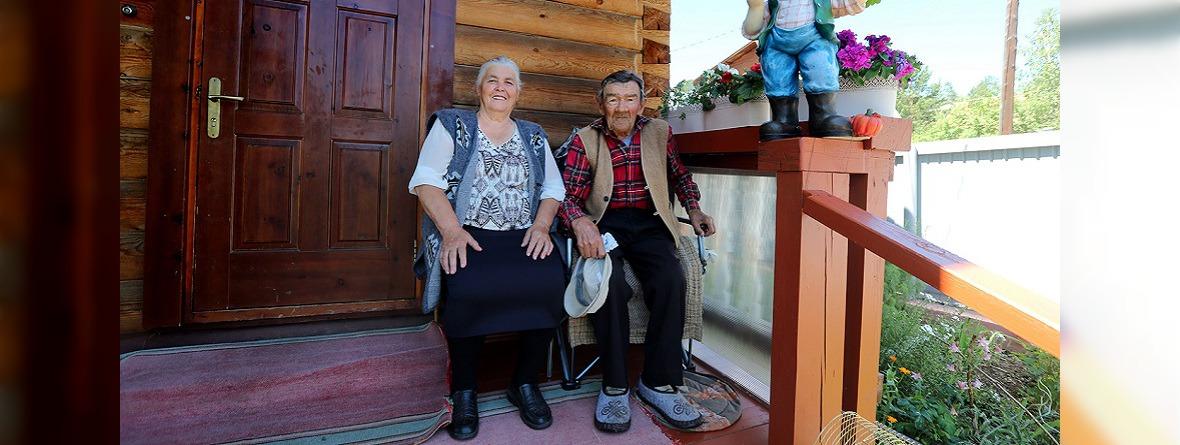 Владимир и Галина Ерощенко. Фото Алексея Головщикова