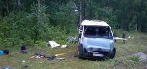 Обзор ДТП: 10 погибших и перевернувшаяся маршрутка Иркутск — Аршан