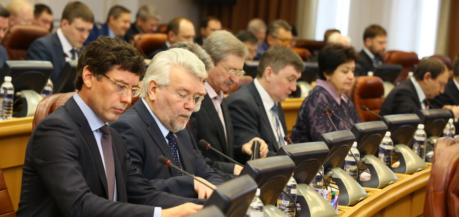Депутаты Заксобрания. Автор фото — Андрей Фёдоров