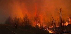 Лесопожарная катастрофа — 2017: сгоревший поселок