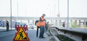 Как убирают дороги в Иркутске