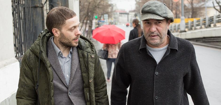Юрий Яшников и Евгений Гришковец. Фото Константина Козье.