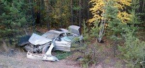 Обзор ДТП: водитель без прав и искореженная Volvo