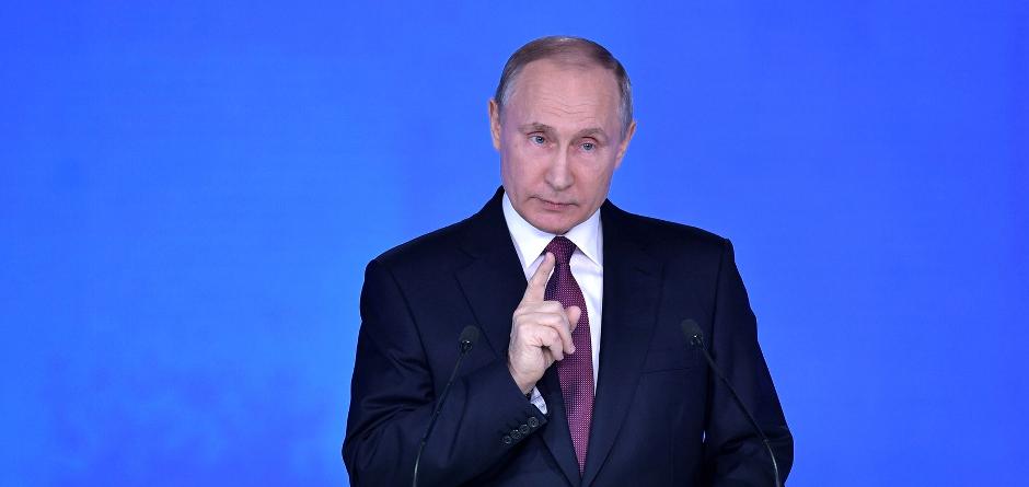 Владимир Путин. Фото с сайта www.kremlin.ru