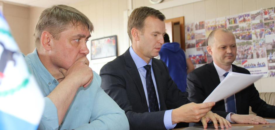 Вадим Семенов, Виктор Побойкин, Алексей Козюра. Автор фото — Галина Солонина