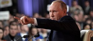 О пресс-конференции Путина с места событий