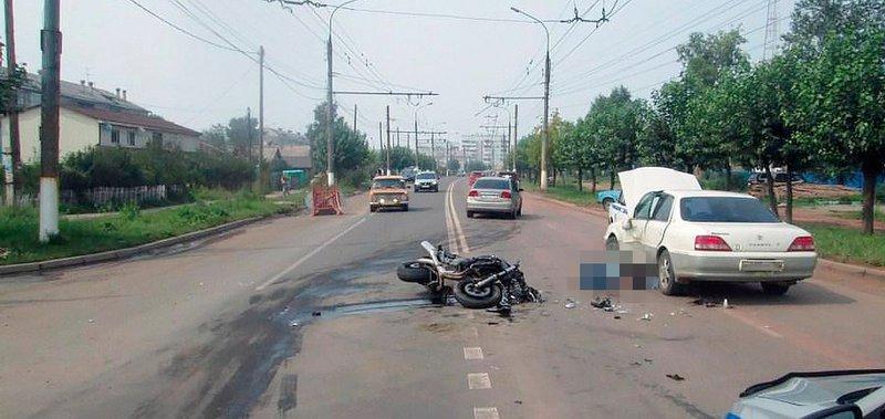 С 14 по 20 августа в Приангарье произошло 62 ДТП с пострадавшими.
