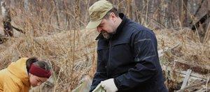 Расчистка свалки в Прибайкальском нацпарке