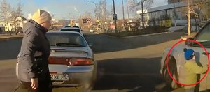 Автохам: дерзкий водитель BMW и невнимательная мать