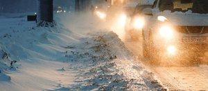 Снегопад на выходных в Иркутске. Обзор соцсетей