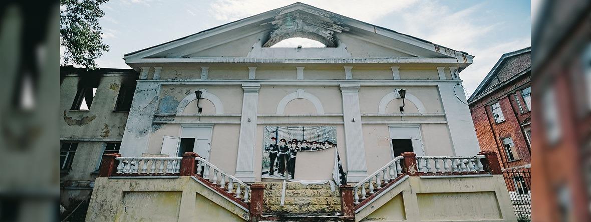 Пустующий клуб ИВВАИУ. Автор фото — Никита Пятков