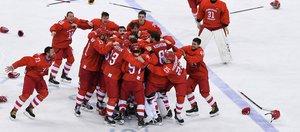 Как иркутяне радовались золоту Олимпиады по хоккею