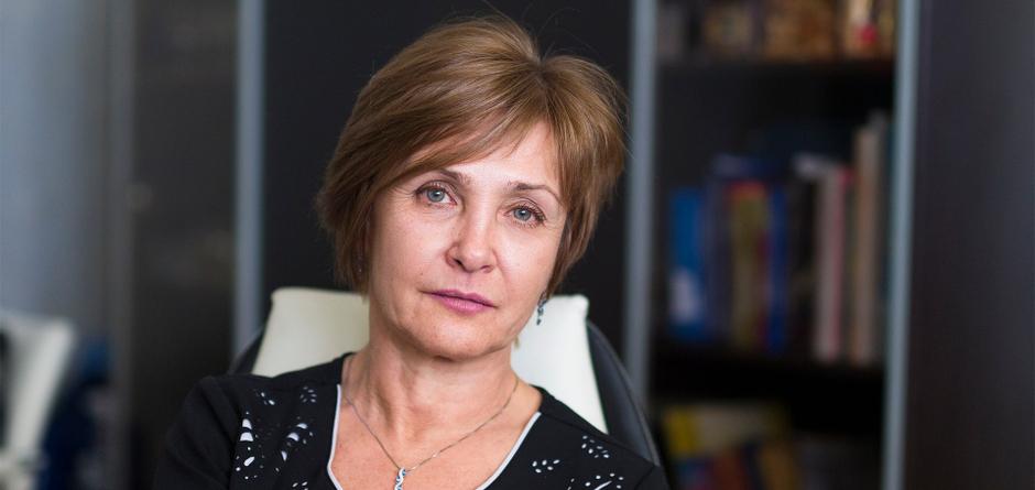 Ирина Ежова. Автор фото — Валерия Алтарёва