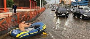 Привет Братску с мундиаля и заплыв по улицам Иркутска