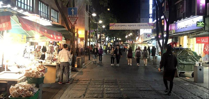 Про путешествие в столицу Южной Кореи.