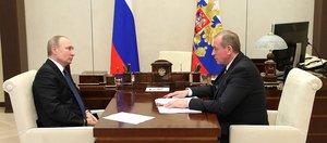 Встреча президента и губернатора Левченко: отставки в ближайшее время не будет