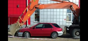 Автохам: гениальная парковка
