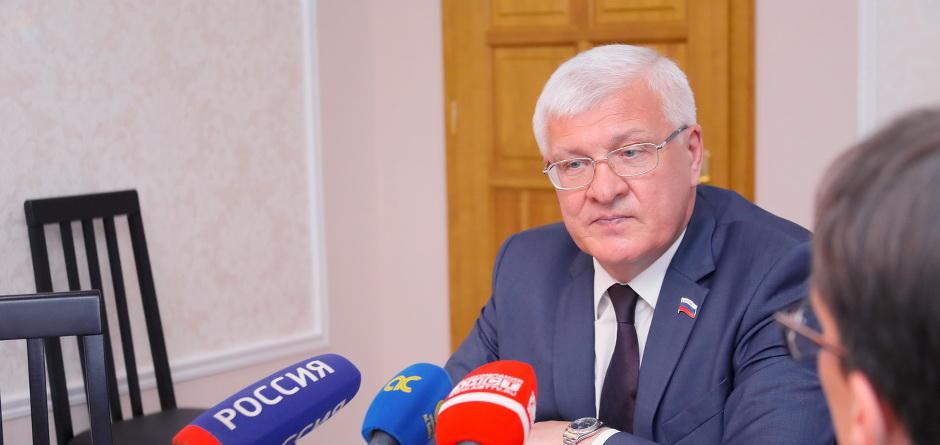 Сергей Брилка. Фото предоставлено пресс-службой Заксобрания
