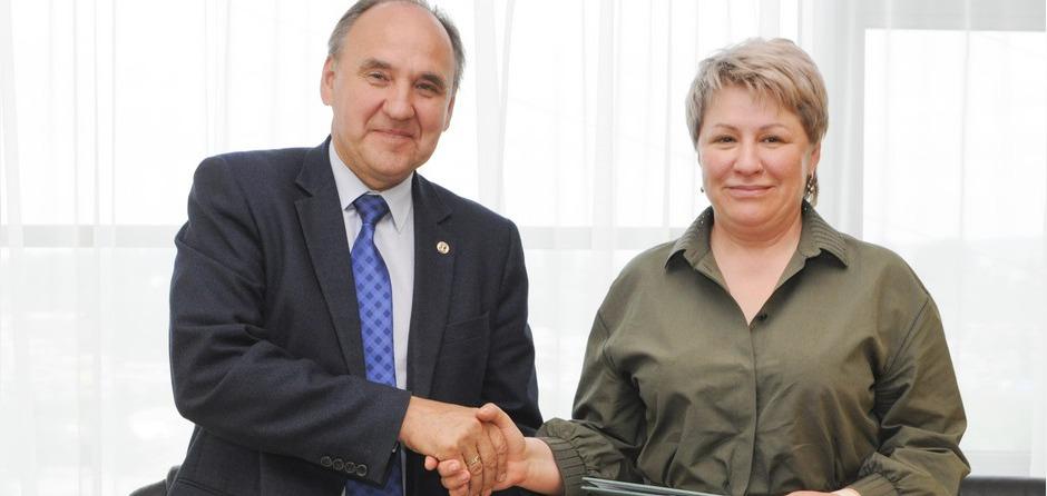 Игорь Бычков и Марина Седых