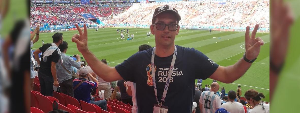 Иркутянин о ЧМ по футболу: «Подобных эмоций я никогда не испытывал»