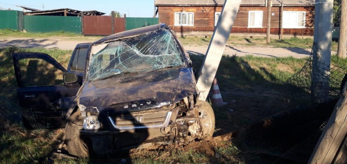 Обзор ДТП: Honda в столб и  школьники под колесами