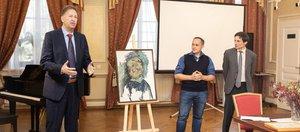 Возвращение забытого: ИНК подарила музею города «Портрет сына Ивана»