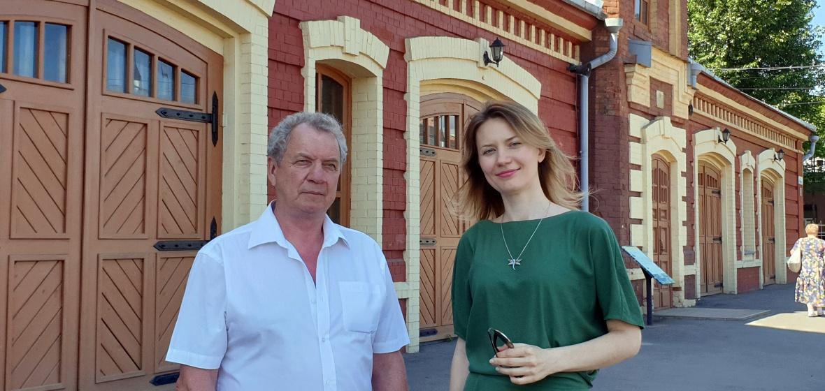 Михаил Степанов и Ирина Кравец. Фото Екатерины Сорокиной