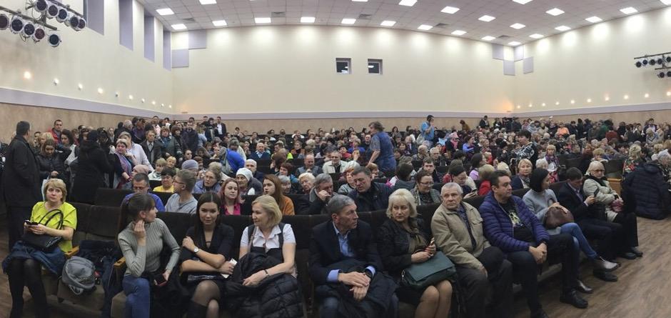 Участники общественных слушаний. Автор фото — Виктория Чистякова