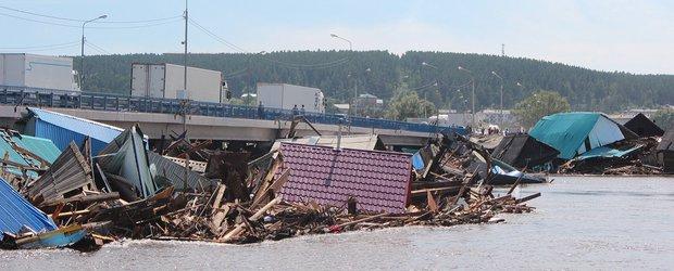 Зона бедствия. Репортаж из затопленного Тулуна