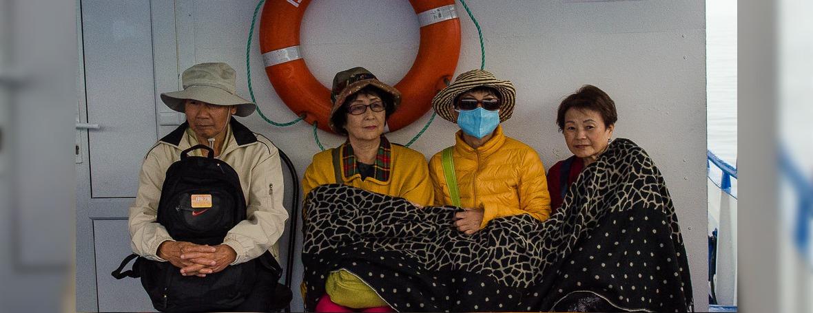 Китайские туристы. Автор фото — Илья Татарников
