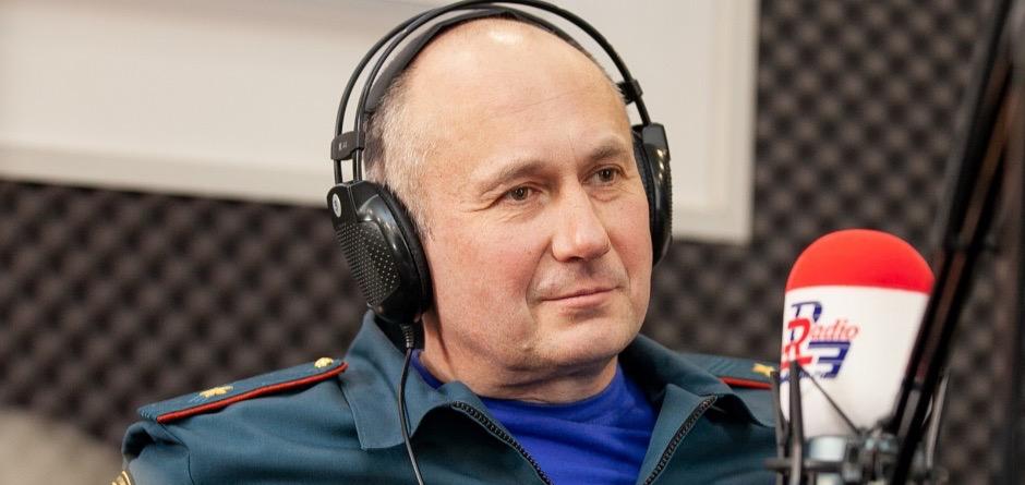 Валентин Нелюбов, начальник Главного управления МЧС России по Иркутской области