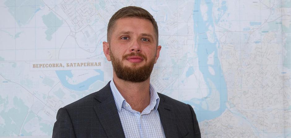 Председатель думы Иркутска Евгений Стекачев. Автор фото — Анастасия Бортник