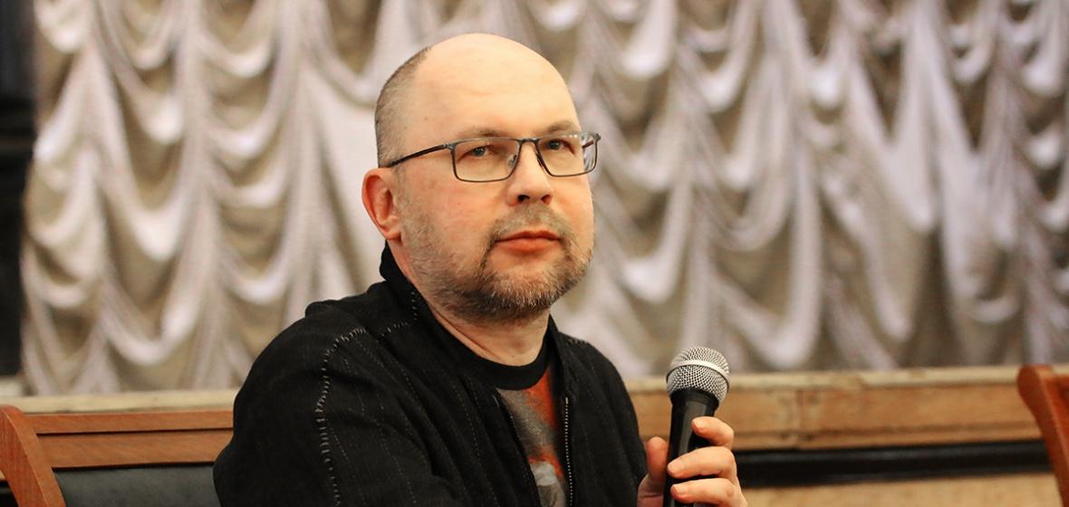Алексей Иванов. Автор фото — Мария Говтвань, РГБ
