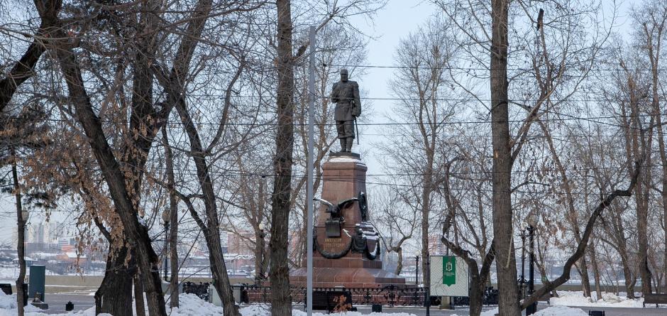 Памятник Александру Третьему. Автор фото — Анастасия Влади