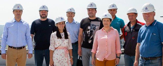 Один день со строительной компанией «Восток Центр Иркутск»