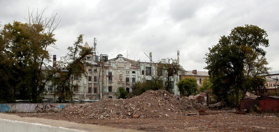 Место, где располагались Курбатовские бани. Автор фото — Анастасия Влади