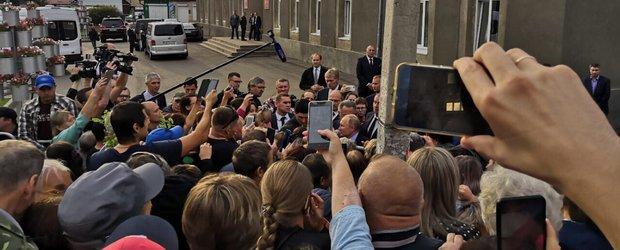 Третий визит президента в Иркутскую область после наводнения