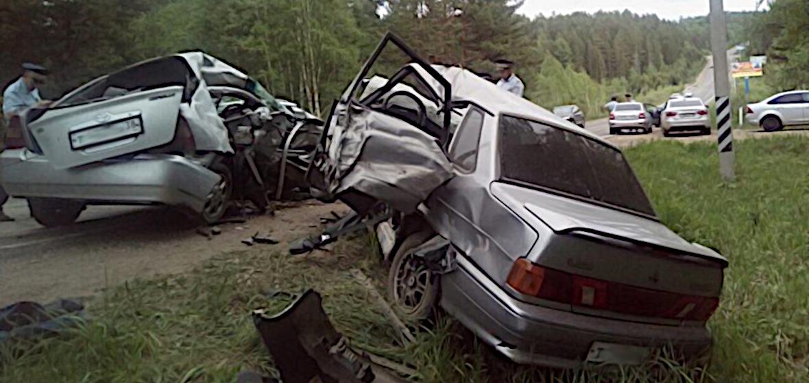 Обзор ДТП: смертельное столкновение на Байкальском тракте | Статьи