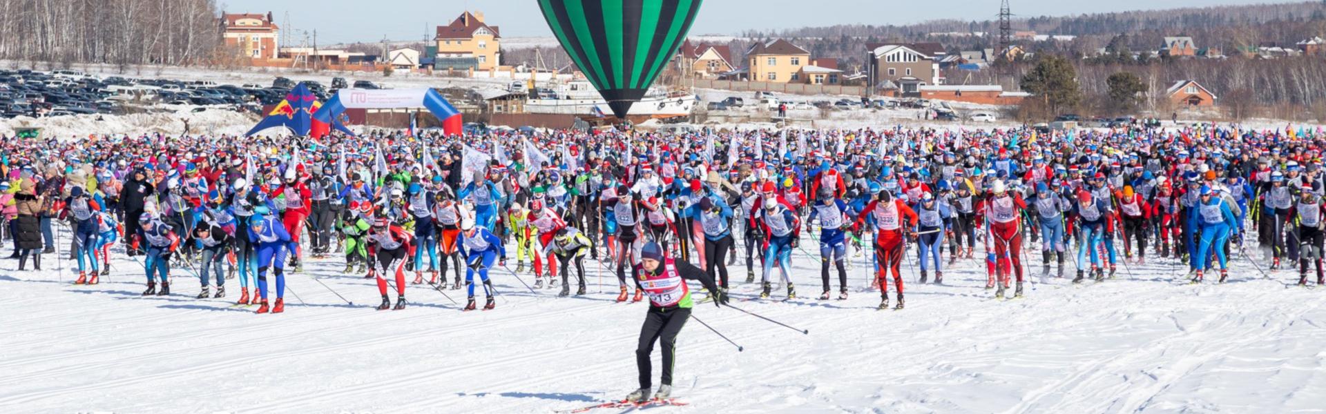 Известные спортсмены и политики об участии в «Лыжне России»