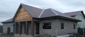 Дом с баней и двумя гаражами