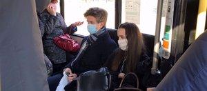 Сколько иркутян нарушили масочный режим в общественном транспорте