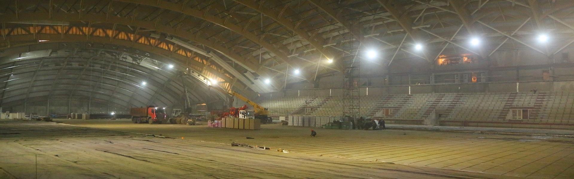 Успеют ли достроить новый ледовый дворец до чемпионата мира по хоккею с мячом?