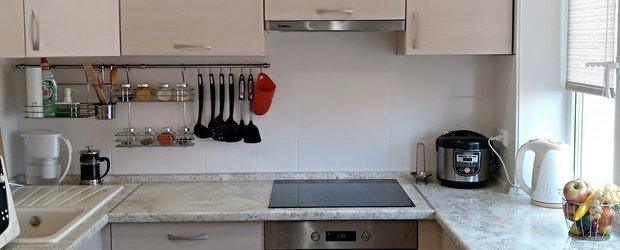 Время ремонта: маленькая кухня с перепланировкой