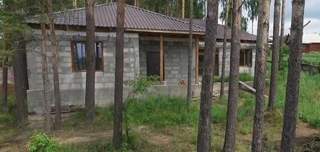 Мечта о доме с красивым забором и бассейном для детей