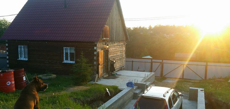Дом из бруса для всей семьи